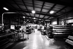 Metal fabrication warehouse Richmond