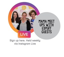 Mama Meetups with expert guests