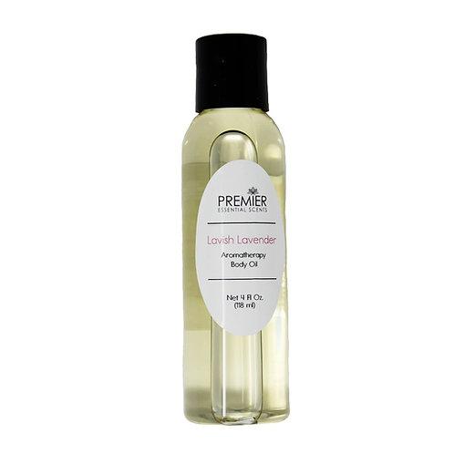 Lavish Lavender Aromatherapy Body Oil