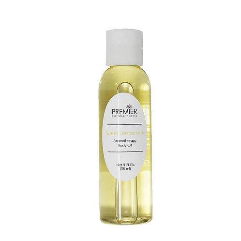 Sweet Lemontyne Aromatherapy Body Oil