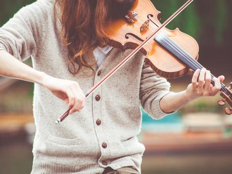 バイオリンとビオラの持ち方の基本