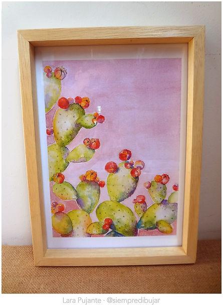 Cactus 2 cuadro - Lara Pujante.jpg