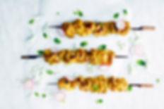 pimentés Brochettes