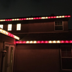 Simple Candy Cane Roofline