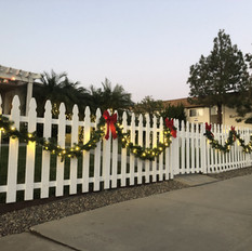 Classic Picket Fence Look