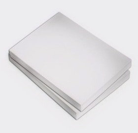 White Card A4   - Pack of 100 sheets