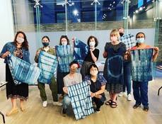 Shibori Indigo Tie Dye with Jess Chan