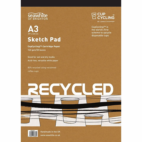 Seawhite A3 CupCycling™ All-Media Pad