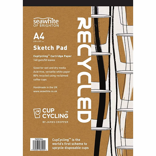Seawhite A4 CupCycling™ All-Media Pad