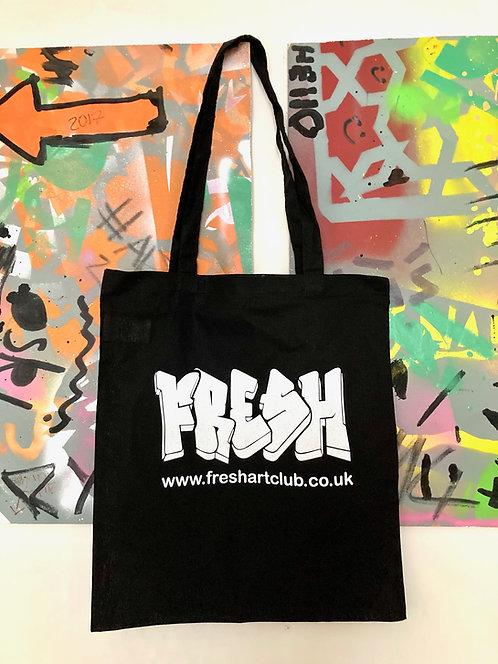 FRESH tote bag - black
