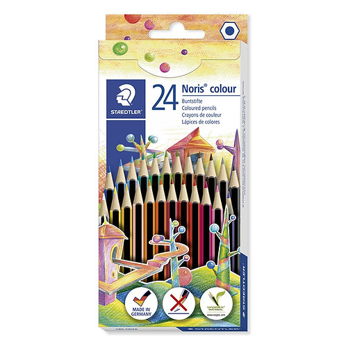 Staedtler High Pigment Coloured Pencils – Assorted – Pack of 24
