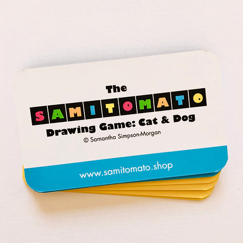 Samitomato Cat & Dog Drawing Game (single pack)