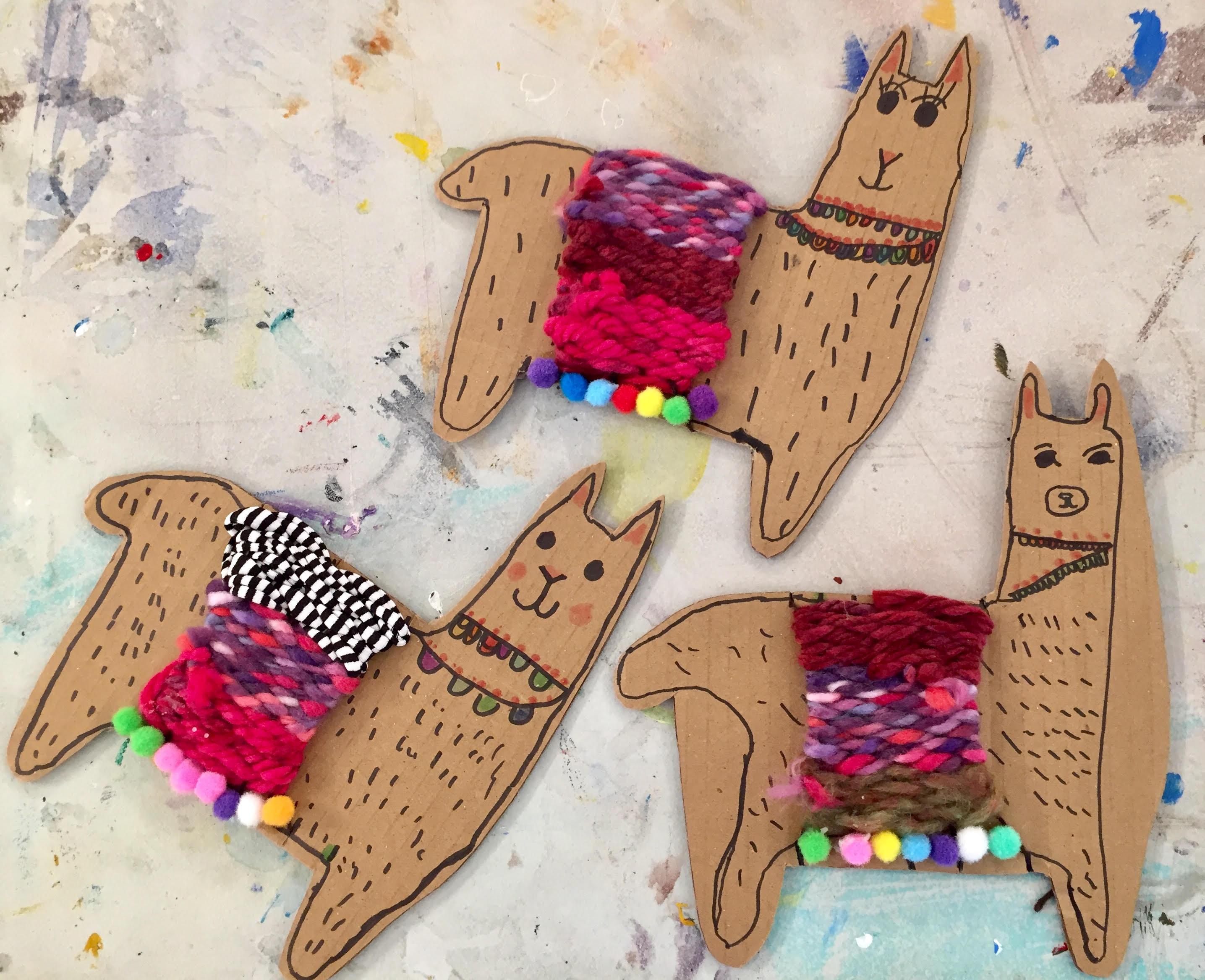 9-12 yrs - Fiesta Llama Weaving Workshop