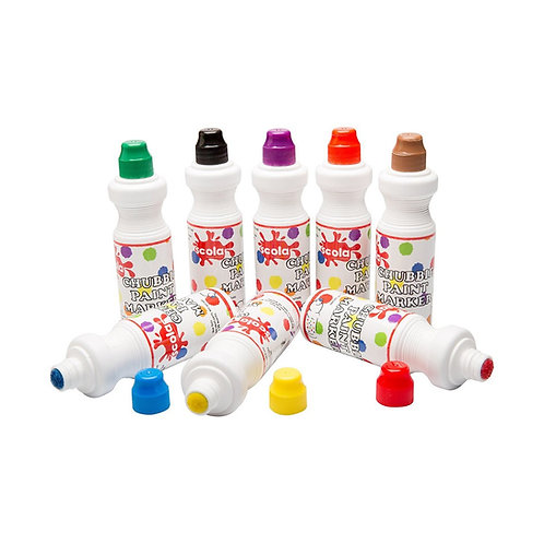 Chubbie Paint Markers – Standard pack of 8