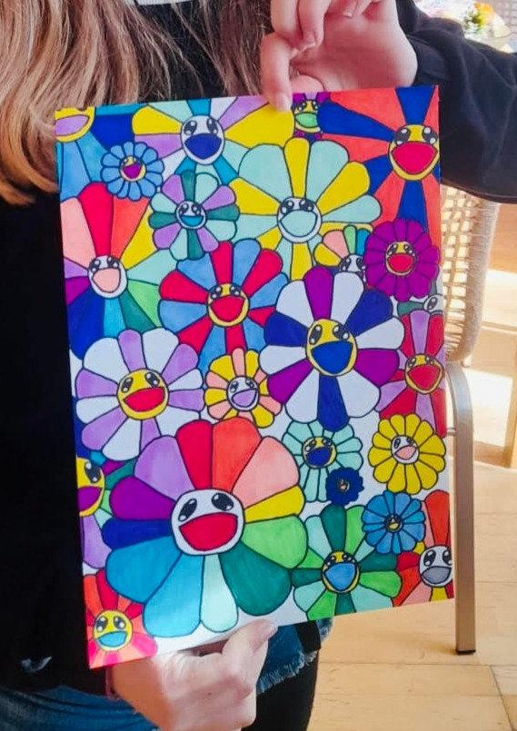 FULL 9-12 yrs- Murakami Flowers Workshop