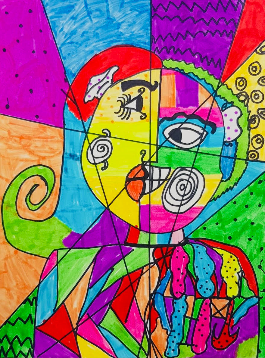 FULL 6-8yrs - Picasso Portraits Workshop