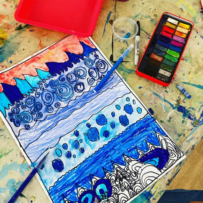 6-8yrs - Deep Blue Sea Workshop