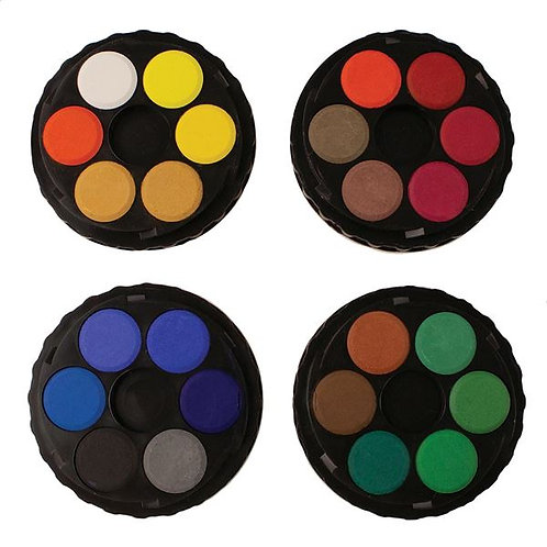 Koh-i-Noor Watercolour Disc Compact Set