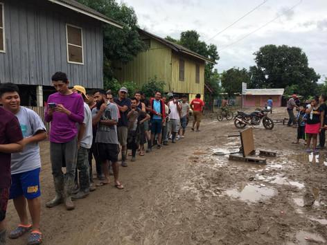 Ayuda en Hondura