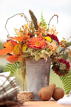 Fall Flower Arranging #1