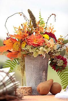 Fall Flower Arranging #1