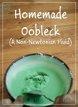 STEM - Making Oobleck-Slime
