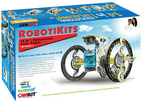 Build Your Own Solar Robot - Robotikits