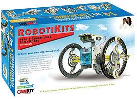 Build Your Own Solar Robot - Robotikits