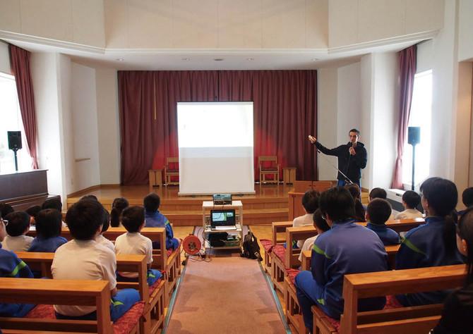 函館三育小学校で食育の授業&ジャムづくり体験をやりました!