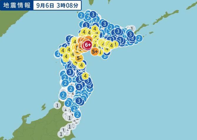 9月6日・7日の北海道全域停電について