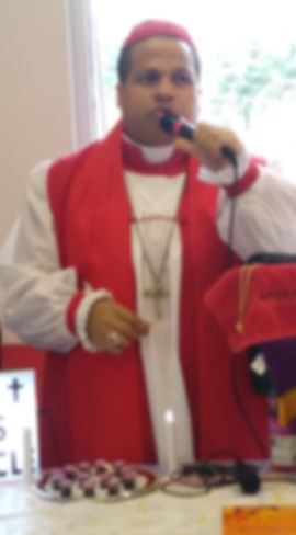 Bishop E. L. Gales:  Senior Pastor and Founder of 'The Lord's Tabernacle PHCOC'