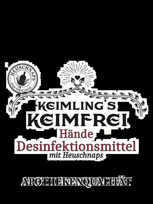 KEIMLING HAND DESINFEKTIONSMITTEL MIT HEUSCHNAPS