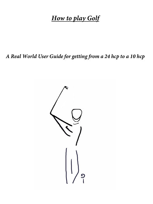 HOW TO PLAY GOLF   by Tim Sutton