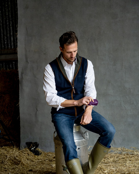 SCHOFFEL Oakham Fleece Gilet lifestyle photography.jpg