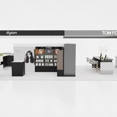Dyson & TFB counter in Switzerland