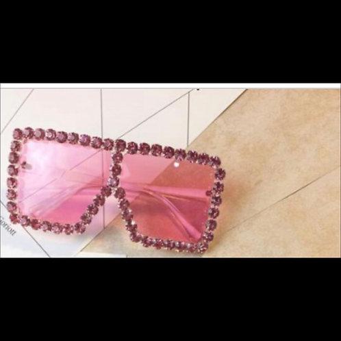 Studded Pink Frames