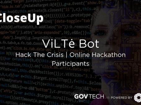 #CloseUp: ViLTe Bot