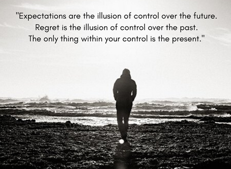 Expectations, Regret and Control