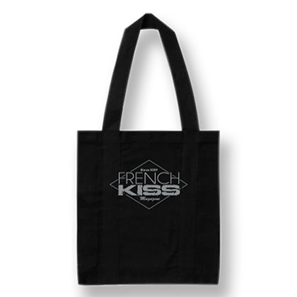 Tote Bag Noir French Kiss