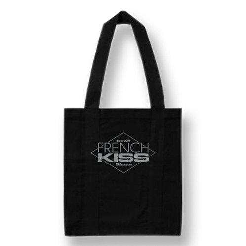 Tote Bag Noir French Kiss