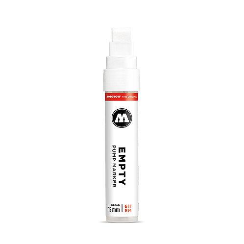 Marqueur Molotow rechargeable 611EM 15mm