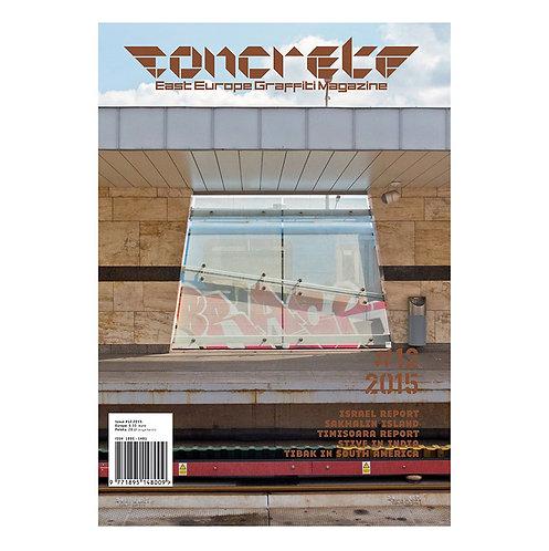 Concrete magazine #12 - 2015
