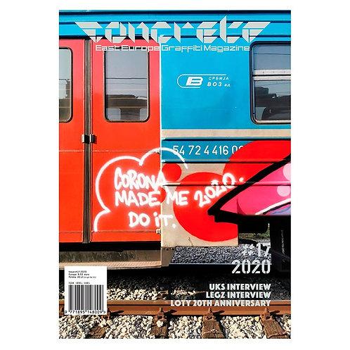 Concrete magazine #17 - 2020