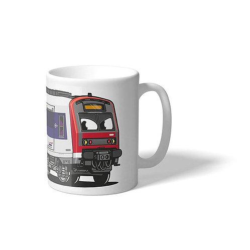 Mug RER C Z5600 - Vandals On Holidays