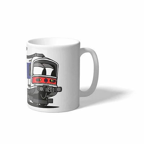 Mug RER A MS61 - Vandals On Holidays