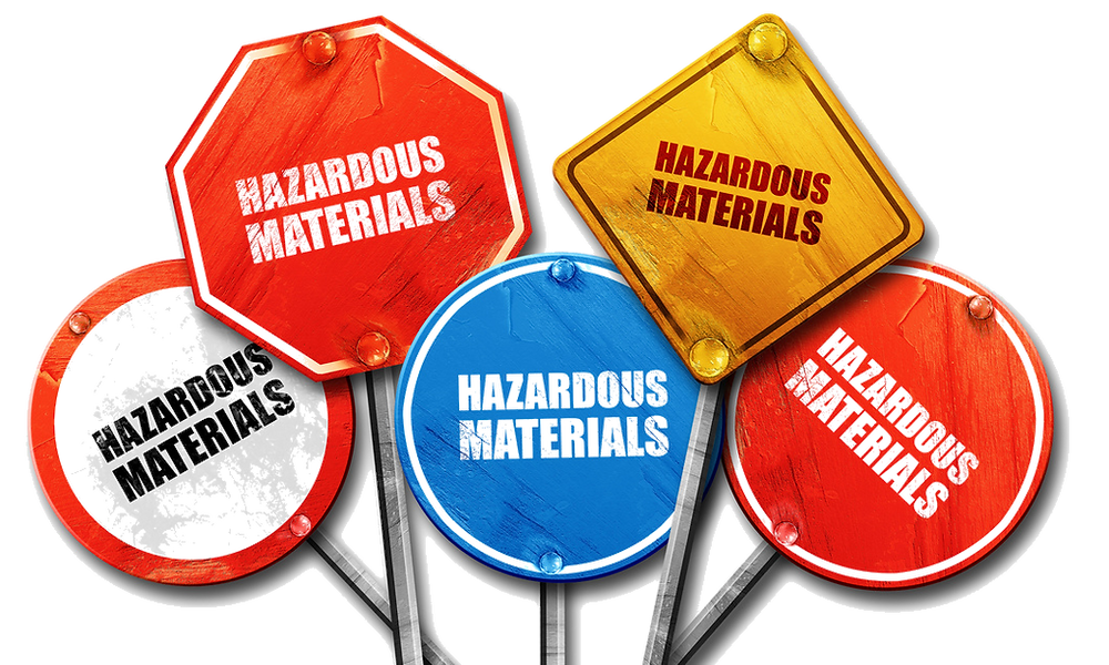 COSHH hazardous substances training