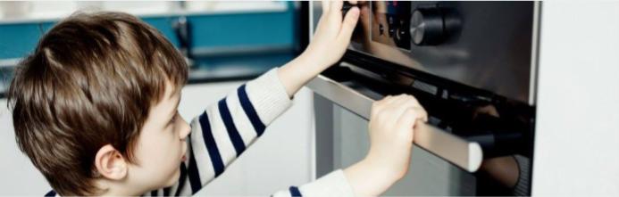 Kitchen safety for children