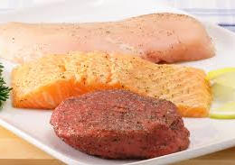 Meat, Poultry & Fish