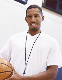 Young Basketball Coach