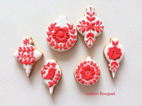 クリスマスミニオーナメントクッキー